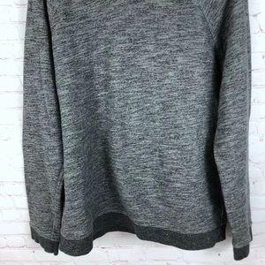 Everlane Shirts - Everlane Gray Marled Pullover Hoodie Sweatshirt